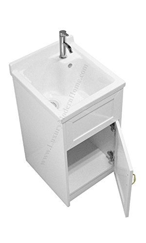Deep Sinks For Laundry Rooms : Utility Sink - Modern Mop Slop Tub Deep Sink Ceramic Laundry Room ...