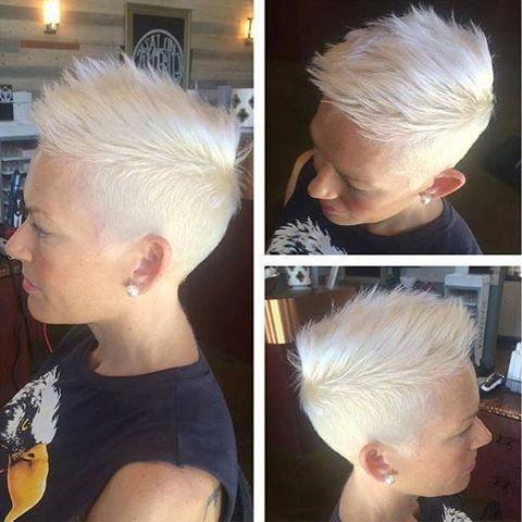 Omdat we geen genoeg kunnen krijgen van blond: 10 korte kapsels met stralende blonde kleuren