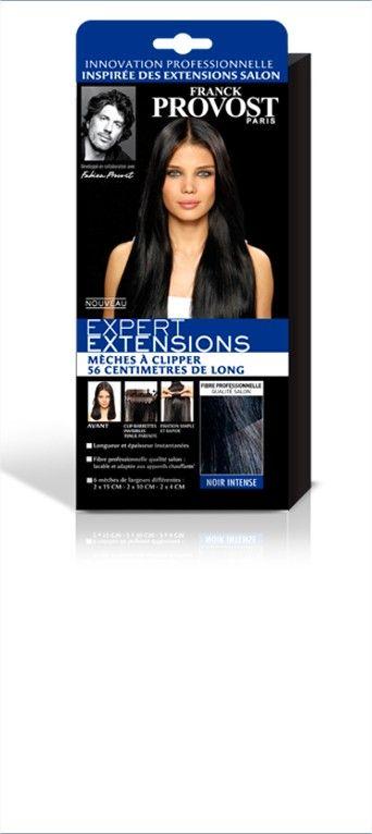 Découvrez la mèche à clipper de couleur noir intense Franck Provost pour vos cheveux : choisissez vos longueurs et vos largeurs de mèches pour une extension de cheveux.