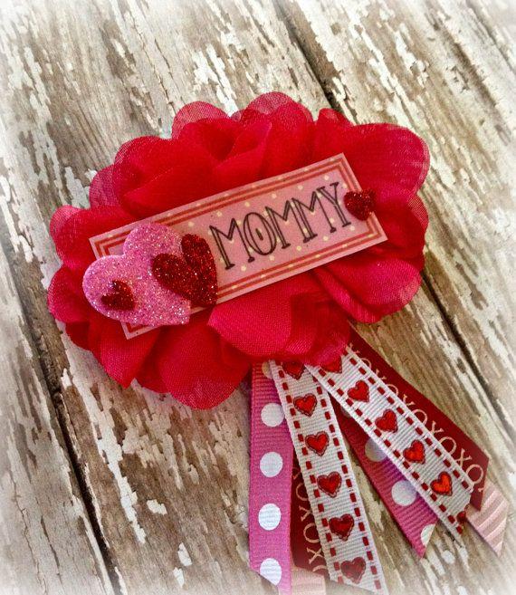 Valentine's Day Baby Shower Badge