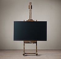 19th C. English Artist's Easel Coffee | DecAcc/Lighting Spring 2013 | Restoration Hardware