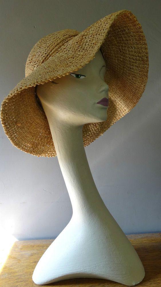 vintage swan neck mannequin bust head shop display millinery jewellery hat scarf