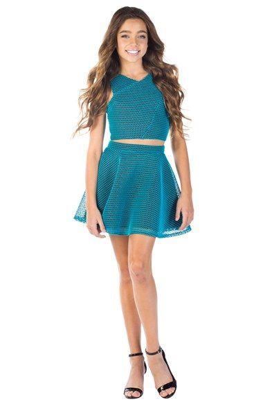 Teal Semi-Formal Tween Dresses