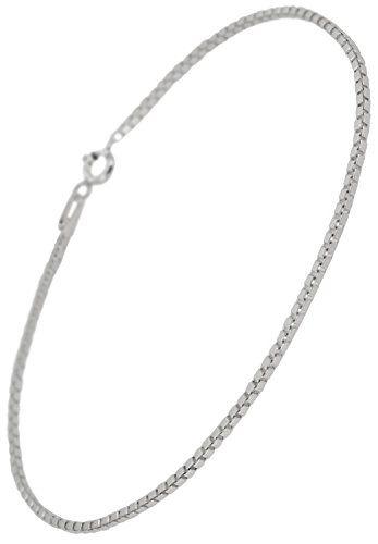 新宿銀の蔵 ベネチアンチェーン シルバー925 アンクレット(収納ポーチ シルバー磨き用布セット) 人気 メンズ