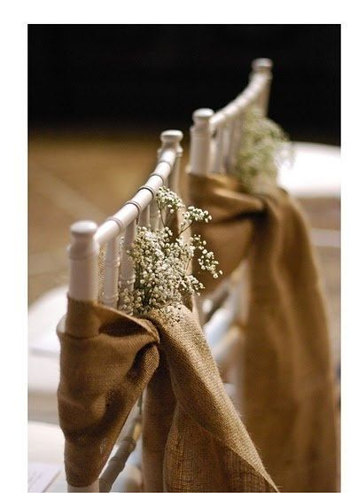 Hey, I found this really awesome Etsy listing at http://www.etsy.com/listing/153164605/burlap-chair-sash-rustic-wedding