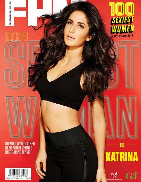 Katrina Kaif beats Angelina Jolie and Beyonce Knowles, voted 'Sexiest Woman Alive'
