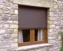 Home roller shutters, with options for controlling