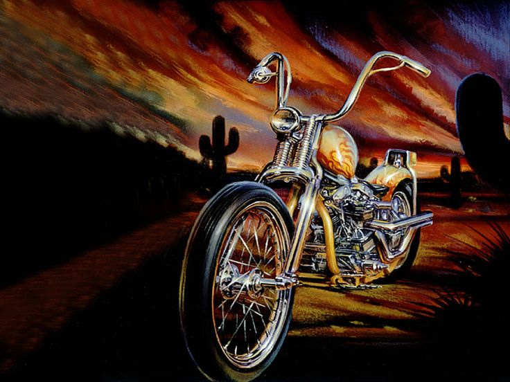 harley davidson artists combined wth classic art | CHOPPER ...