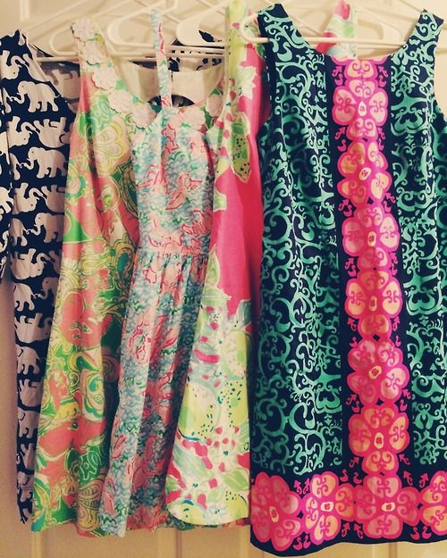 sophisti-kate: Favorite dresses of my personal collection. I swear I could live in these five dresses for the rest of my life.