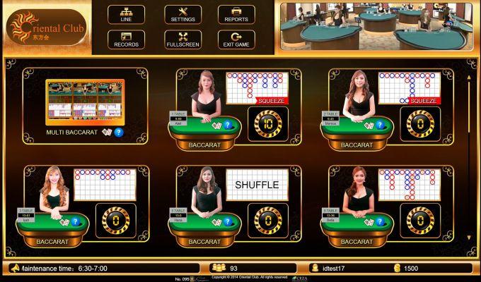 Agen Oriental Casino Bonus Rollingan up to 1 % #casino # ...