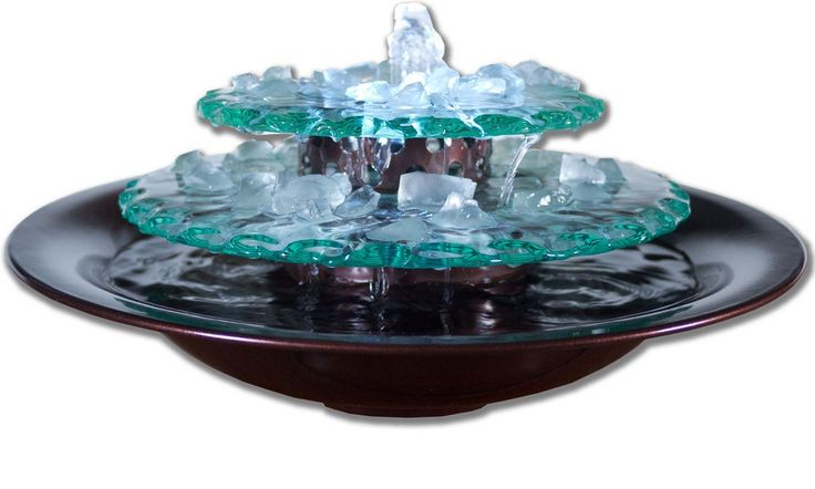 17 best ideas about tabletop water fountain on pinterest for Homemade tabletop water fountain