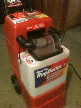 The Rug Doctor Steam Cleaner