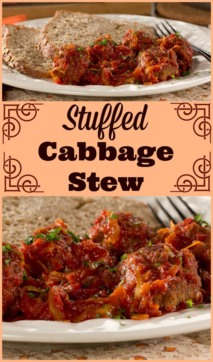 Stuffed cabbage stew recipe stew recipes with cabbage and stove - Cabbage stew recipes ...