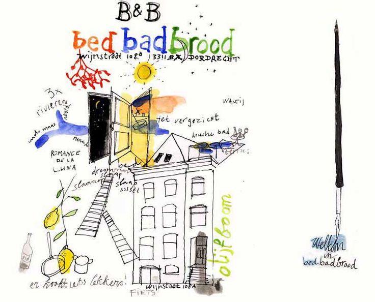 Bed bad brood - Dordrecht