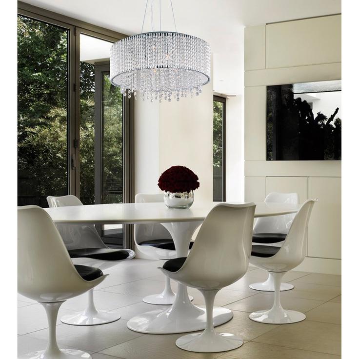 Spiral 6 Light Pendant. Modern Home Design For Luxury Houses. Dining Room  Lighting