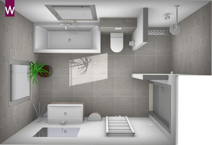 Meer dan 1000 afbeeldingen over 3d badkamer ontwerpen op pinterest toiletten kind en eland - Badkamer meubilair ontwerp eigentijds ...