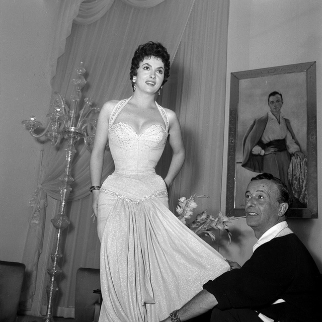 "Emilio Schuberth 1904 - 1972 Italy  Known as ""tailor of the stars"" (Gina Lollobrigida 1927)"