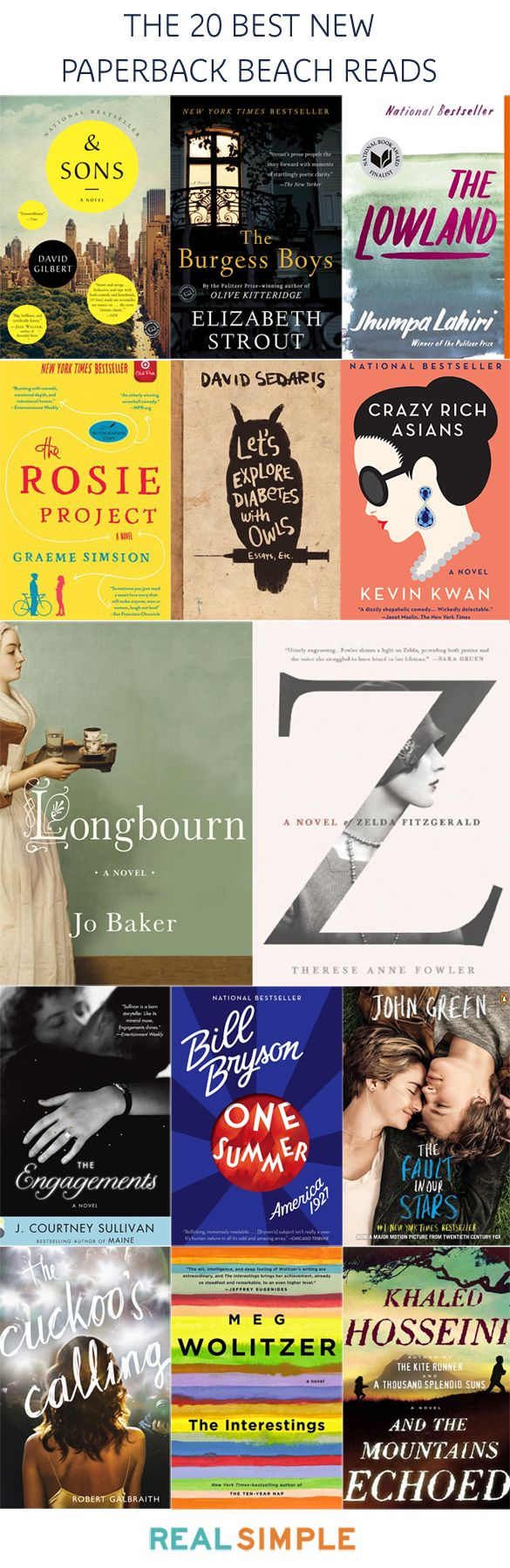 20 best new paperback beach reads for 2014 | real simple