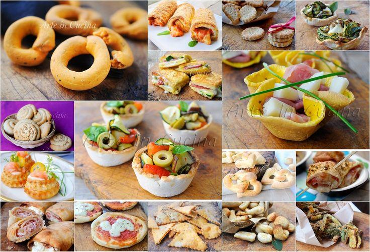 STUZZICHINI SALATI VELOCISSIMI per le feste, CONGELABILI semplici, sfiziose, ottime a pranzo o cena