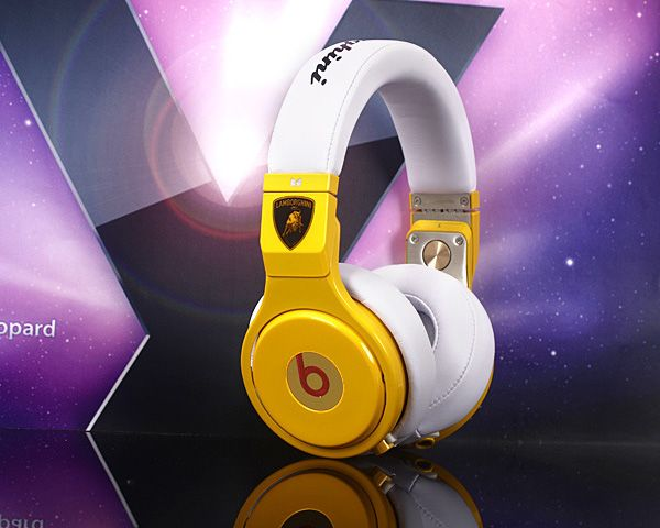 Beats By Dre Pro Lamborghini Yellow Limited Edition Headphones $399.95  $199.98