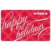 Kohl's Gift Card (for clothes for Nicole)