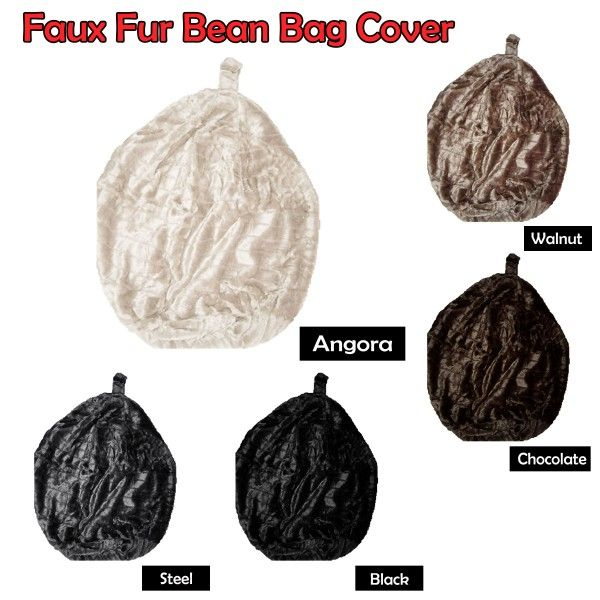This luxurious Faux Fur bean bag is made for comfort and relaxation.