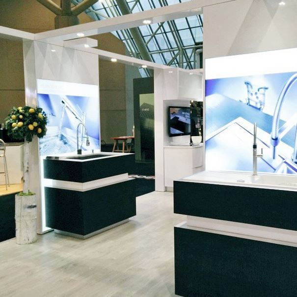 #IDS15 Booth displays