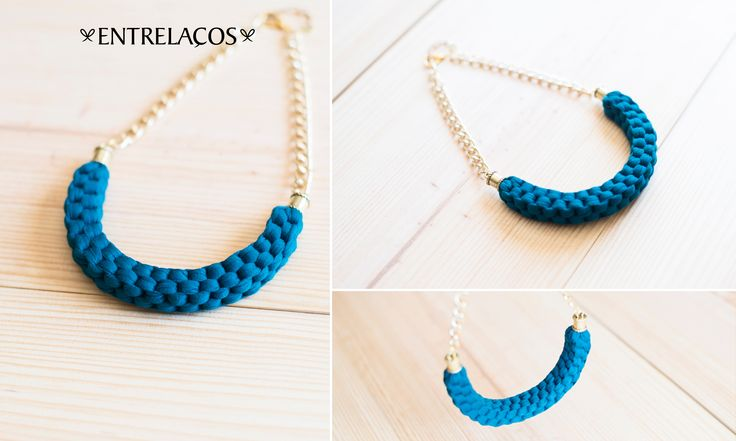 * Necklace Handmade * Woman https://www.facebook.com/entrelacoscolaresartesanais  https://www.etsy.com/pt/shop/Entrelacos?ref=hdr_shop_menu