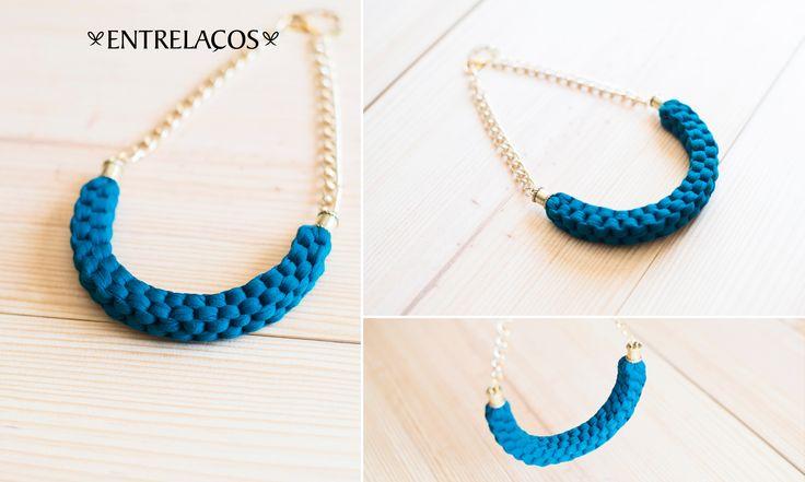 * Necklace Handmade * Woman https://www.facebook.com/entrelacoscolaresartesanais  https://www.etsy.com/pt/shop/Entrelacos?ref=hdr_shop_menu