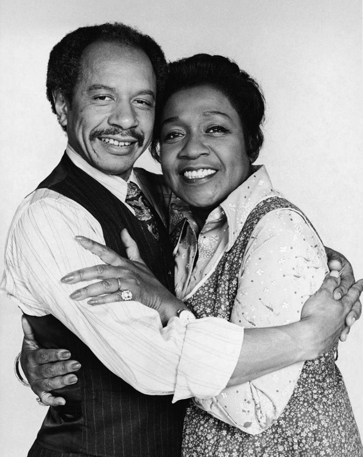The Jeffersons. Sherman Hemsley and Isabel Sanford.