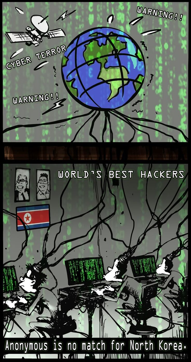 North Korea spreads lots of viruses all over the world for cyber terror. 'NK Virus' which threats the world peace should be terminated first.