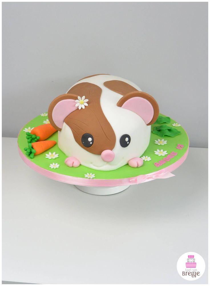 Hamster cake van Bregje
