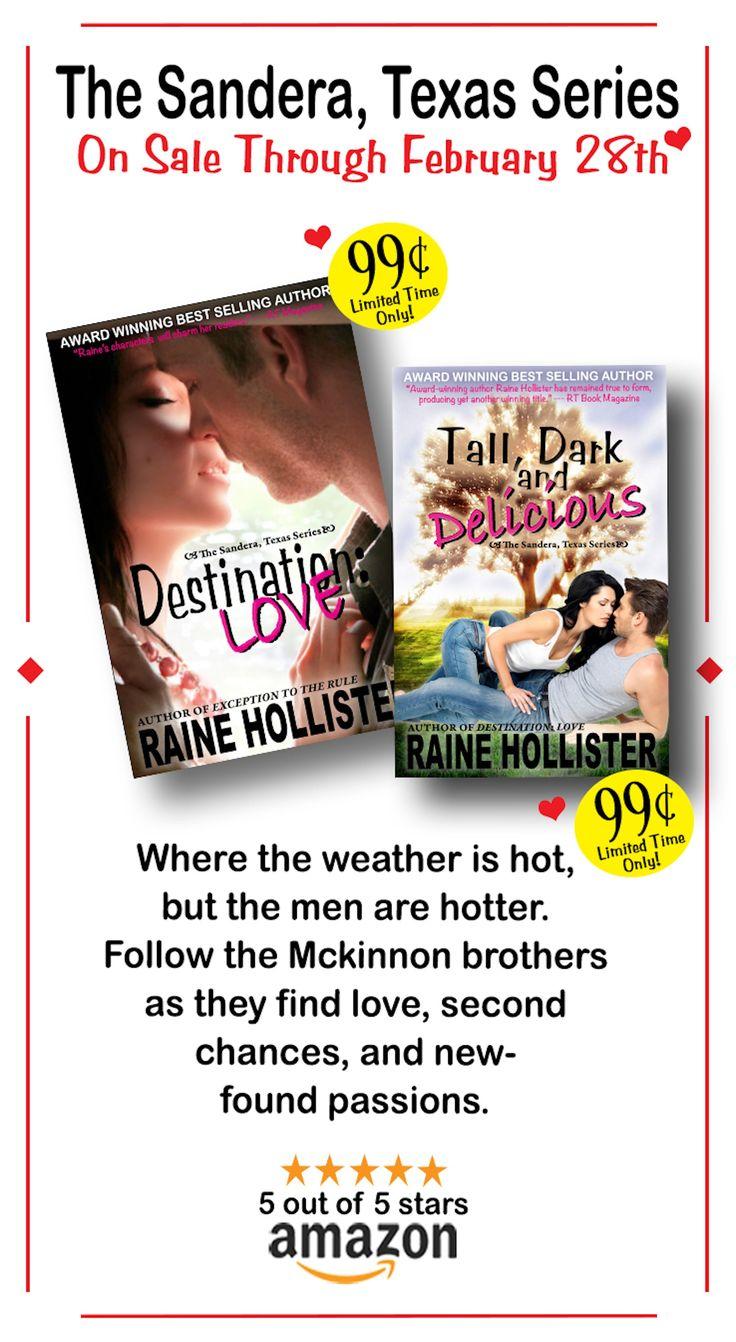 Romance Novels to Read   Contemporary Romance Books   Contemporary Romance Series   99 Cent Books   Contemporary Romance Book Covers   Contemporary Romance Cowboys   Romance Novels #RaineHollister #TheSanderaTexasSeries