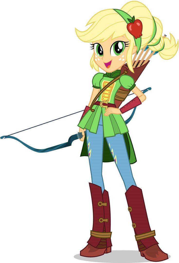 Loving the apple headband on Applejack in the Friendship Games!