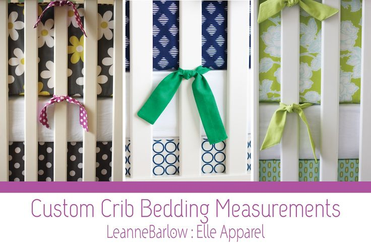 Elle Apparel: crib bedding 101 the best crib bumper tutorial!