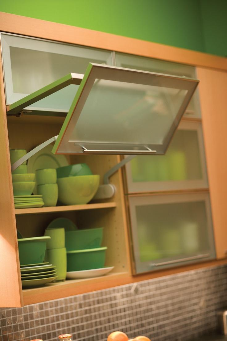 Green Kitchen Cabinet Doors