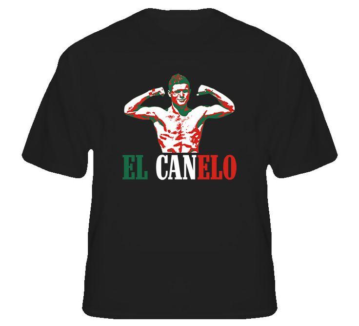 Saul El Canelo Alvarez Mexico Boxing T Shirt