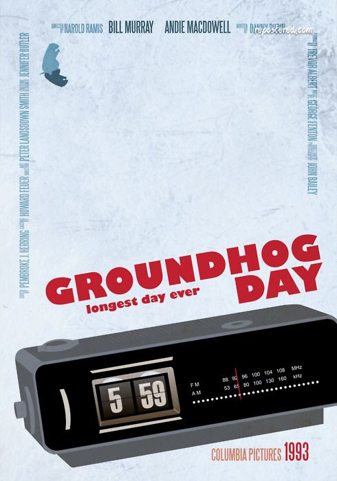 Rom Coms | 90s movies | Groundhog Day