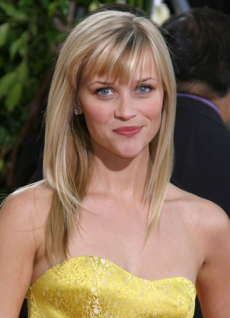 17 Fringe Hairstyles Bangs Reese Witherspoon For The Most Exciting Days