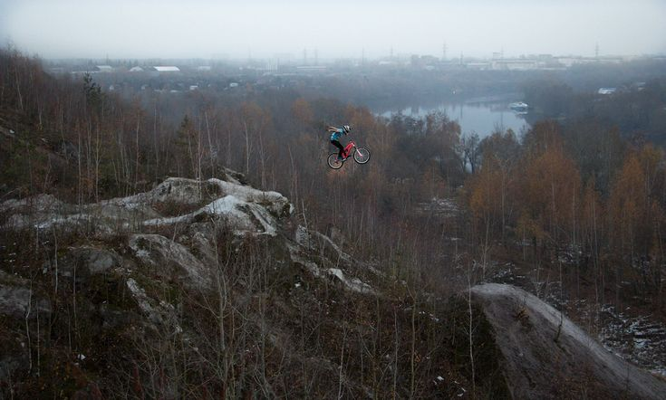 Rider - Mishanya Ogorodnik Shot - Sergey Makarov spot - Russia Voskresensk near Moscow builder Benderoni and friends
