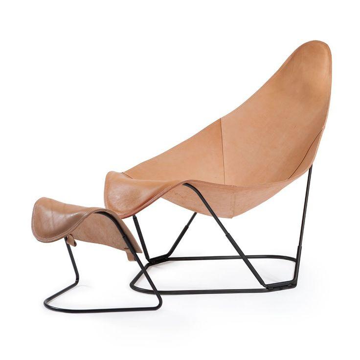 Abrazo Fåtölj och pall   Cuero Design   Länna Möbler   Handla online