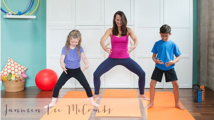 Bedtime yoga for kids...puts em right to sleep