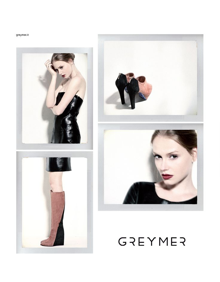 advertising campaign Greymer Fall Winter 2013 www. greymer.it
