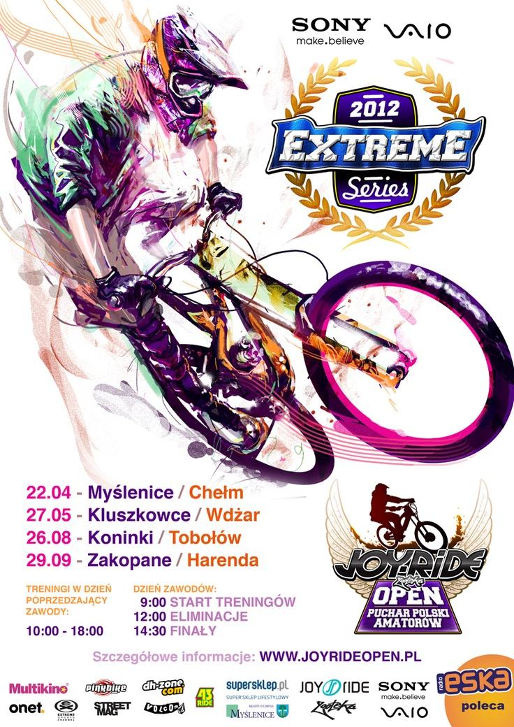 Sony VAIO Joy Ride Open 2012 - Więcej informacji na stronie: www.extremeseries.pl