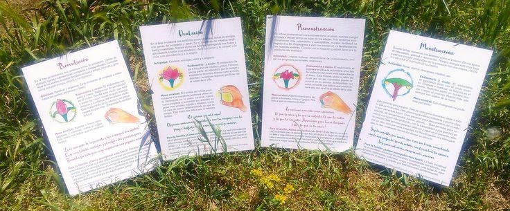 La Danza del ciclo menstrual Una colección de 4 cartas que nos invitan a profundizar en cada una de las fases del ciclo menstrual. Estoy feliz de volver a escribiros para presentaros una colección …