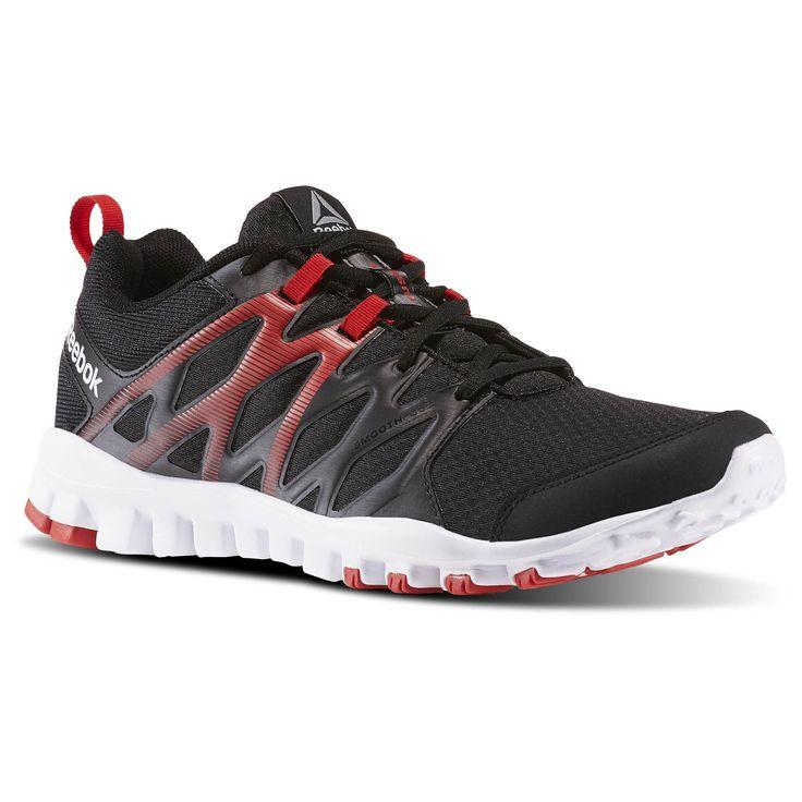 Reebok BD5891 REALFLEX TRAIN 4.0 Siyah Erkek Yürüyüş Koşu Ayakkabısı