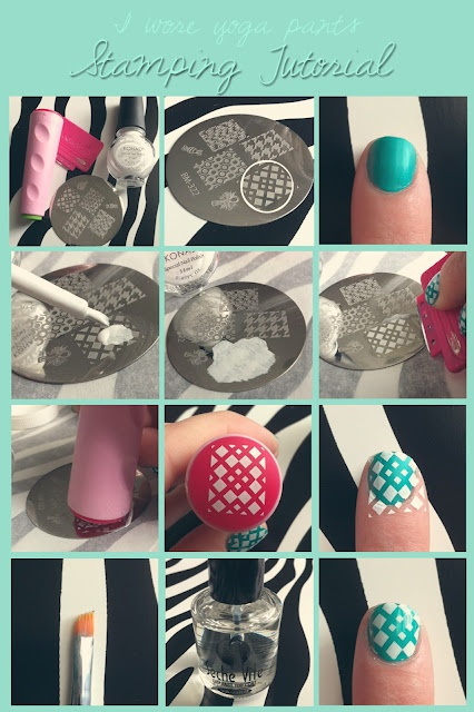 98 best bundle monster nail art images on pinterest blouses nail stamping tutorial prinsesfo Gallery
