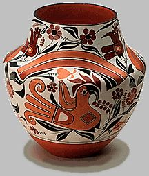 Typical Acoma pot, this by Joseph Cerno