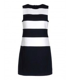 What to Buy Now: Theory Emanita Forage Striped Dress – Shop the Sporty Trend at #ShopBAZAAR http://shop.harpersbazaar.com/trends/game-set-match