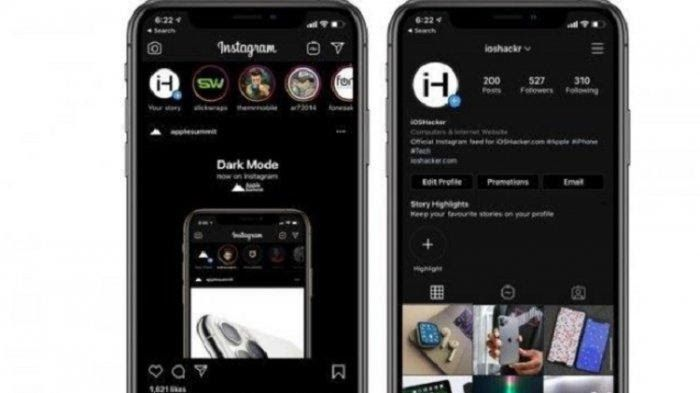 Background Warna Instagram Buat Tampilan Instagram Jadi Hitam Cara Mudah Aktifkan Dark Download Download Insta Story Ba Samsung Galaxy Instagram Warna